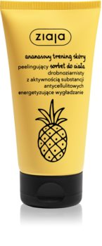 Ziaja Pineapple нежен сорбет за тяло с пилинг ефект