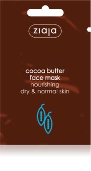Ziaja Cocoa Butter máscara hidratante e nutritiva