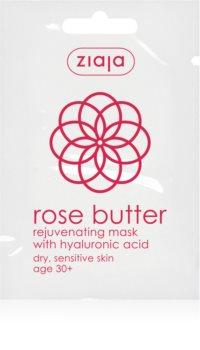 Ziaja Rose Butter masque visage rajeunissant 30+