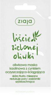 Ziaja Natural Olive masque visage au kaolin