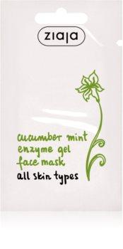 Ziaja Cucumber maschera scrub con enzimi