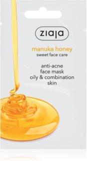Ziaja Manuka Honey pleťová maska proti akné