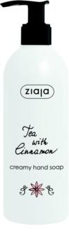 Ziaja Tea with Cinnamon sabonete cremoso  para mãos