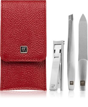 Zwilling Twinox kit manucure Red
