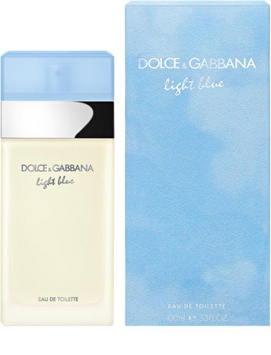 <center>Dolce & Gabbana Light Blue</center>