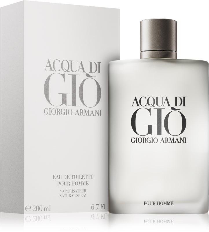 <center>Acqua di Giò Pour Homme</center>