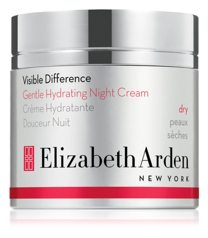 Elizabeth Arden Visible Difference Gentle Hydrating Night Cream crema de noapte hidratanta pentru tenul uscat 50ml - Lyral Free