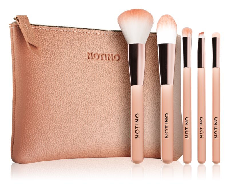 Notino Glamour Collection Travel Brush Set with