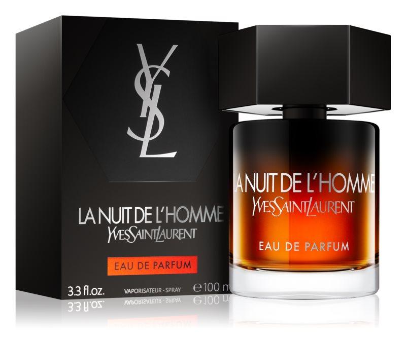 <center>Yves Saint Laurent La Nuit de L'Homme</center>