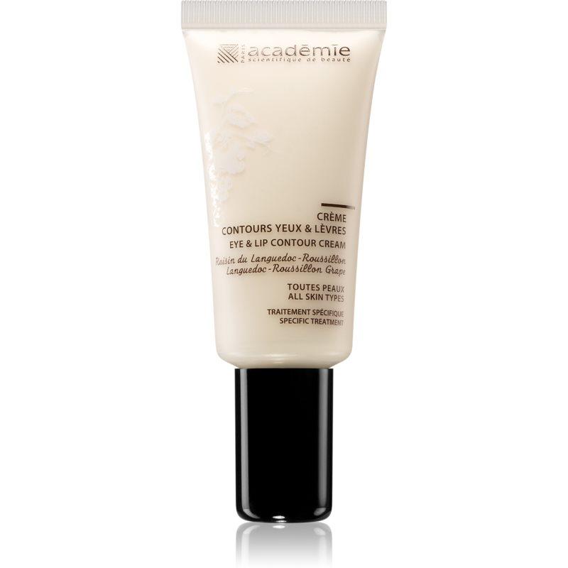 Académie Scientifique de Beauté Aromathérapie crème raffermissante contour yeux et lèvres pour tous types de peau 15 ml