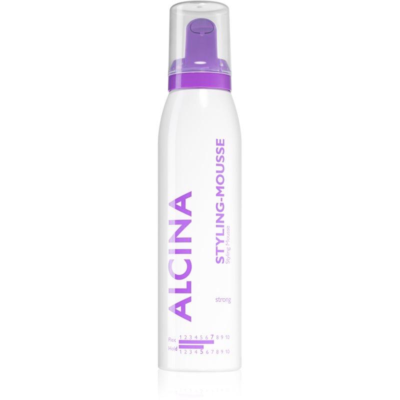 Alcina Strong mousse fixante pour donner du volume et de la brillance 150 ml