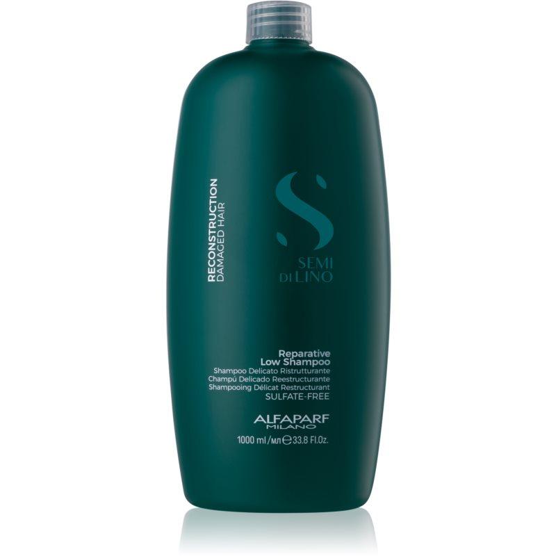 Alfaparf Milano Semi di Lino Reconstruction for Damaged Hair shampoo per capelli danneggiati senza sulfati 1000 ml