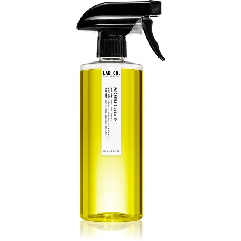 Ambientair Lab Co. Patchouli & Cedar spray lakásba 500 ml