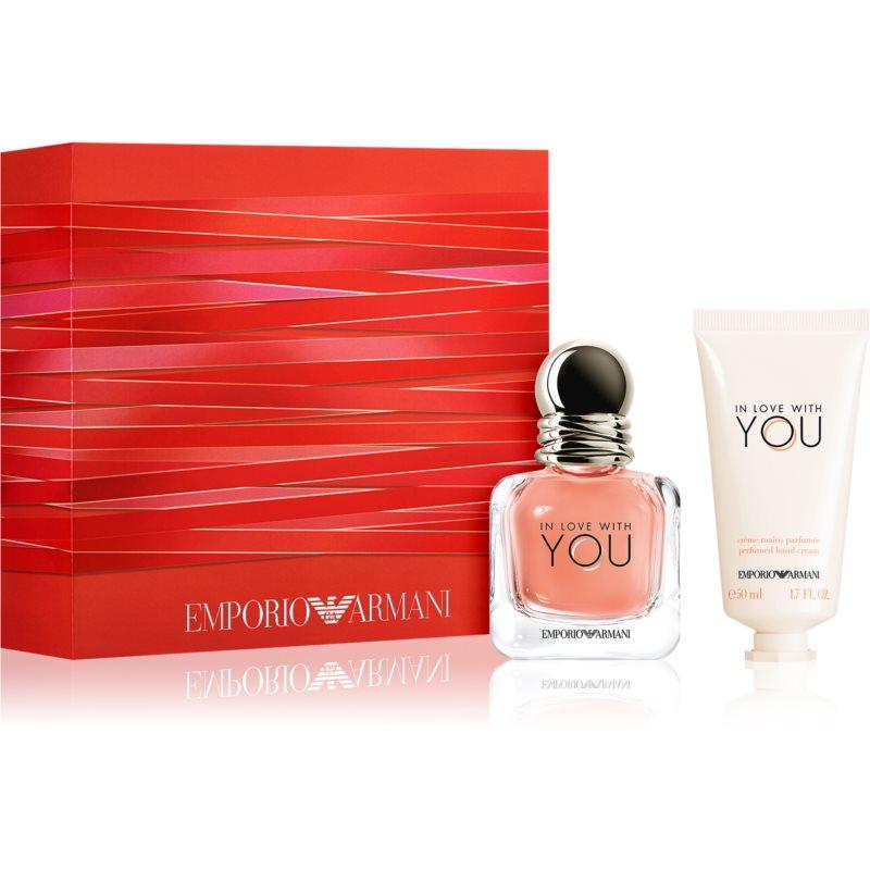 Armani Emporio In Love With You coffret cadeau pour femme
