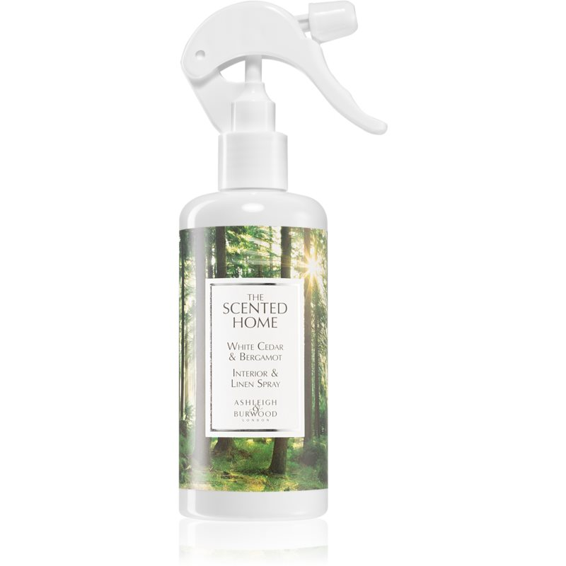 Ashleigh & Burwood London The Scented Home White Cedar & Bergamot spray lakásba 300 ml