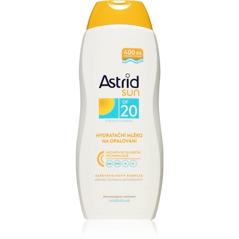 Astrid Sun hydratační mléko na opalování SPF 20 400 ml