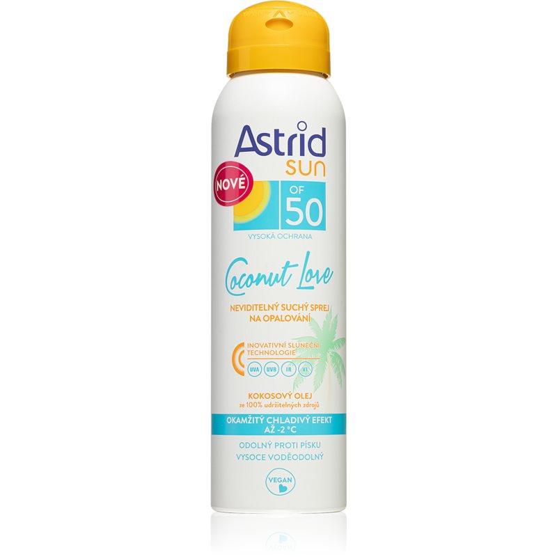 Astrid Sun Coconut Love sprej na opalování SPF 50 150 ml