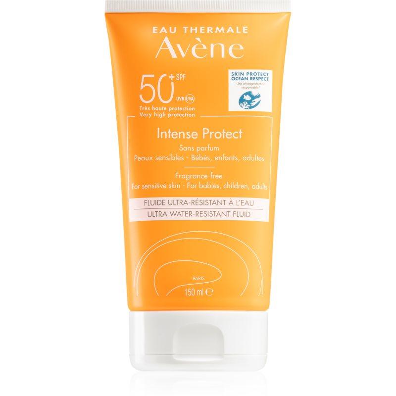 Avène Sun Intense Protect ochranný fluid pro citlivou pleť SPF 50+ 150 ml