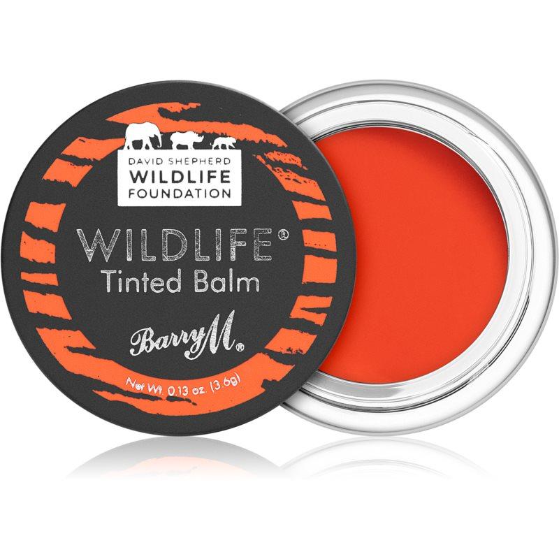 Barry M Wildlife balsamo tonificante per labbra colore Untamed Red 3,6 g