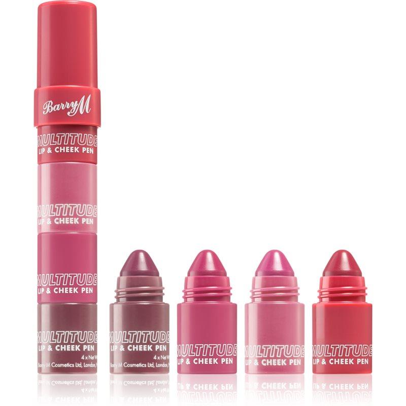 Barry M Multitude Lip and Cheek Pen rouge lèvres et joues teinte Sweet Darling 3,8 g