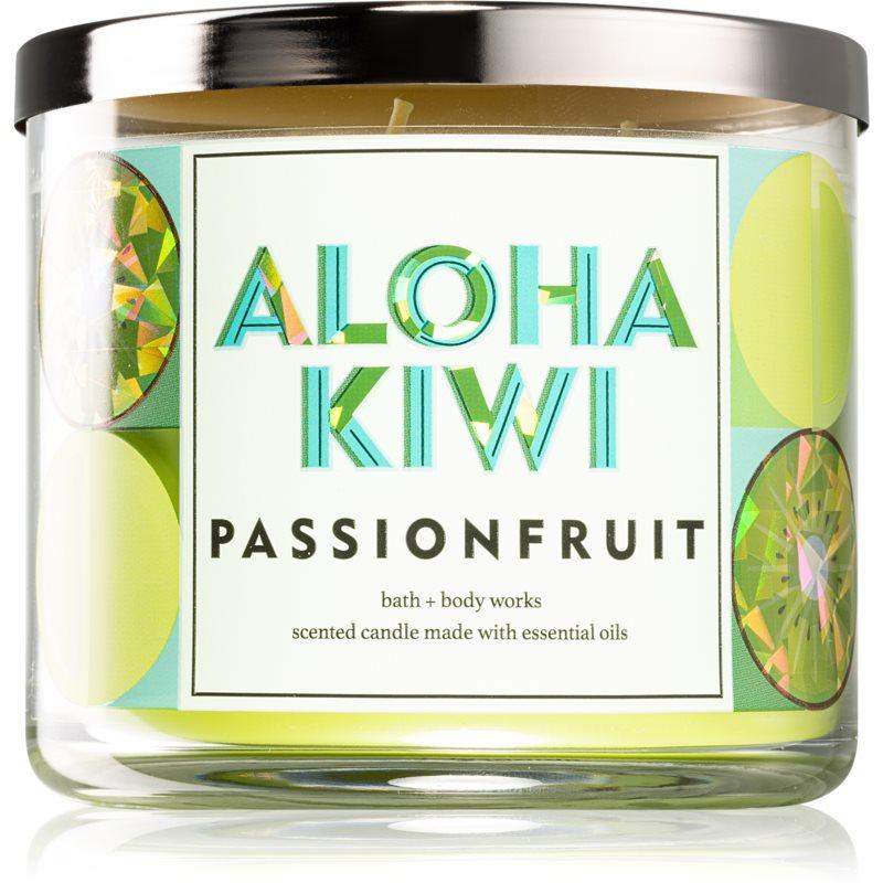 Bath & Body Works Aloha Kiwi Passionfruit vonná svíčka 411 g