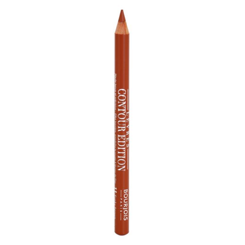 Bourjois Contour Edition crayon à lèvres longue tenue teinte 11 Funky Brown 1.14 g