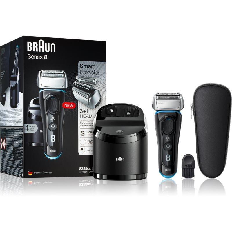 Braun Series 8 8385cc Black with Clean&Charge System borotválkozó készülék 8385cc Black