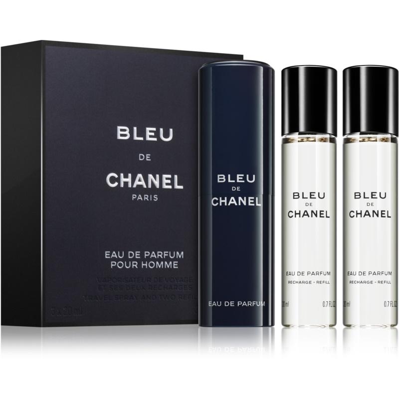 Chanel Bleu de Chanel Eau de Parfum pentru bărbați 3 x 20 ml