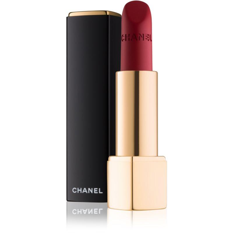 Chanel Rouge Allure Velvet sametová rtěnka s matným efektem odstín 58 Rouge Vie 3.5 g