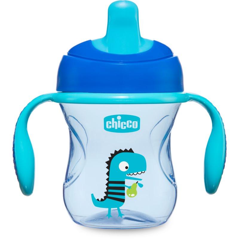 Chicco Train tasse d'apprentissage avec supports 6m+ Blue 200 ml
