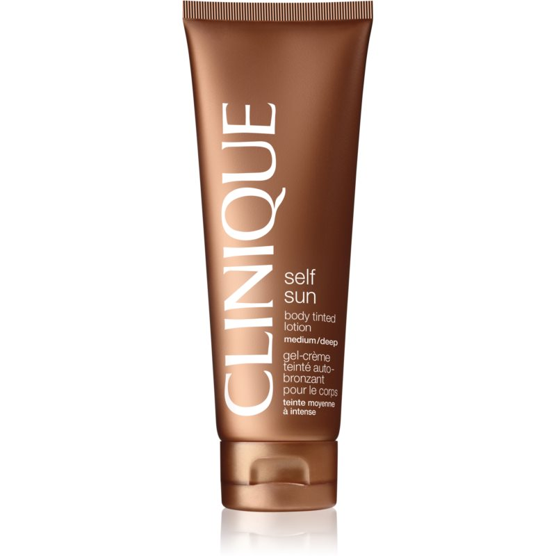 Clinique Self Sun™ Body Tinted Lotion lait corporel auto-bronzant teinte Medium/Deep 125 ml