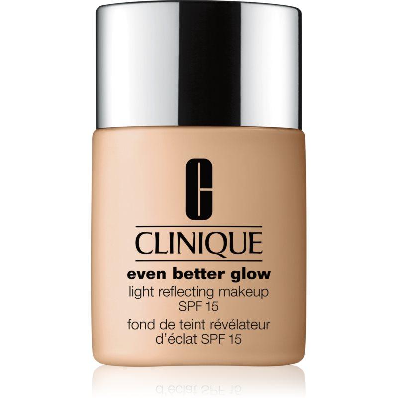 Clinique Even Better™ Glow Light Reflecting Makeup SPF 15 fondotinta illuminante SPF 15 colore WN 38 Stone 30 ml