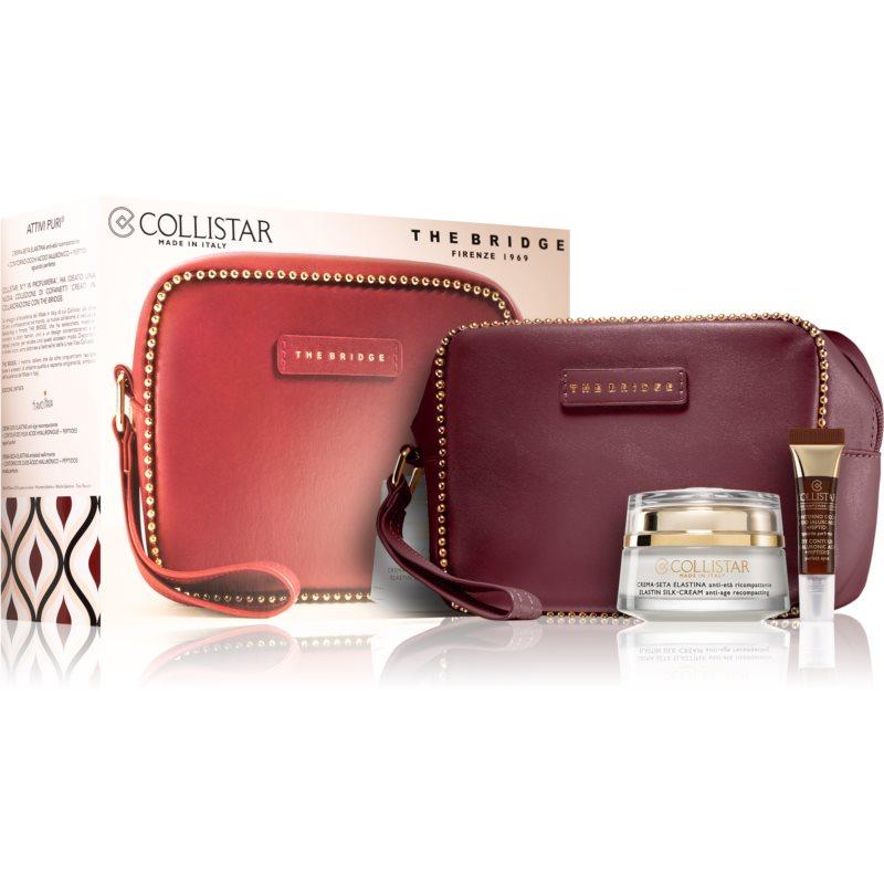 Collistar Pure Actives Elastin Silk-Cream kosmetická sada I. pro ženy