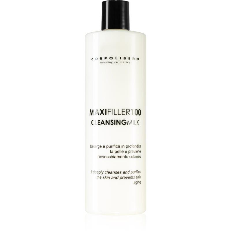 Corpolibero Maxfiller 100 Cleansing Milk lait nettoyant visage anti-âge 400 ml