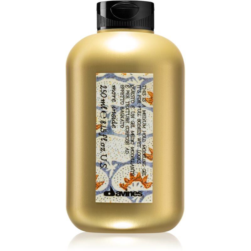 Davines More Inside gel per styling effetto bagnato 250 ml