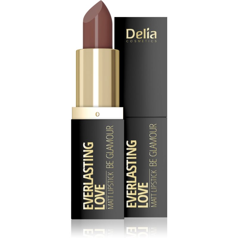 Delia Cosmetics Everlasting Love Be Glamour rossetto opacizzante colore 304 fancy 4 g