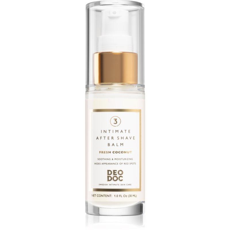 DeoDoc Intimate After Shave Balm baume apaisant après-rasage pour femme 30 ml