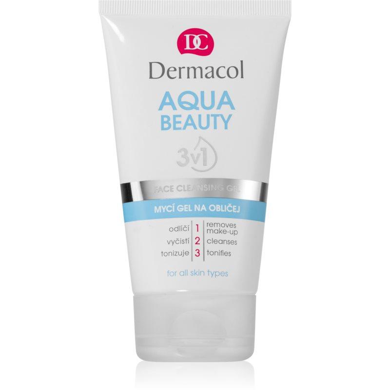 Dermacol Aqua Beauty arclemosó gél 3 az 1-ben 150 ml
