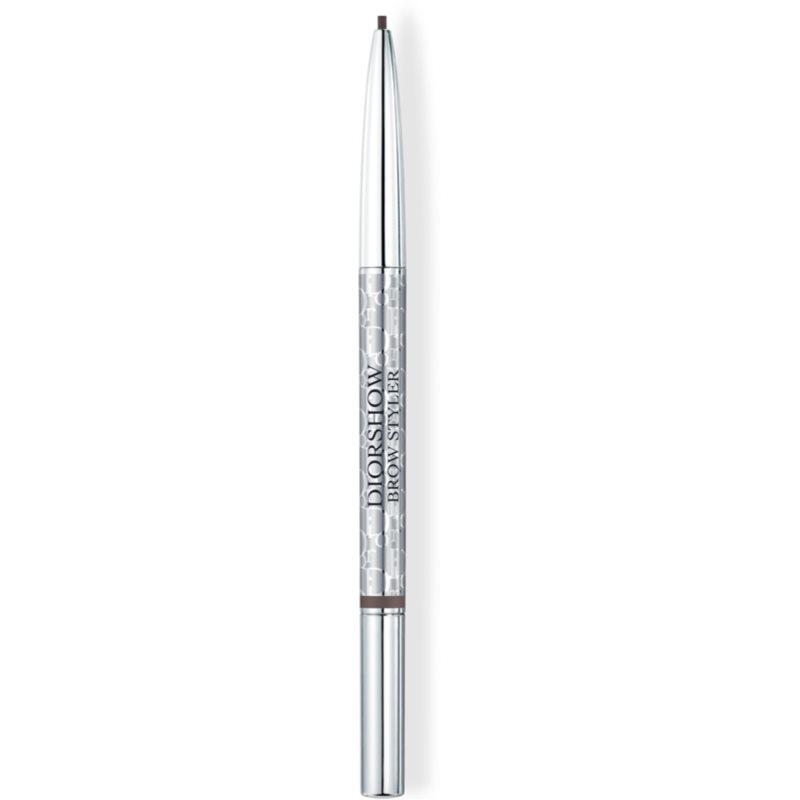 DIOR Diorshow Brow Styler crayon pour sourcils avec brosse teinte 001 Universal Brown 0.09 g