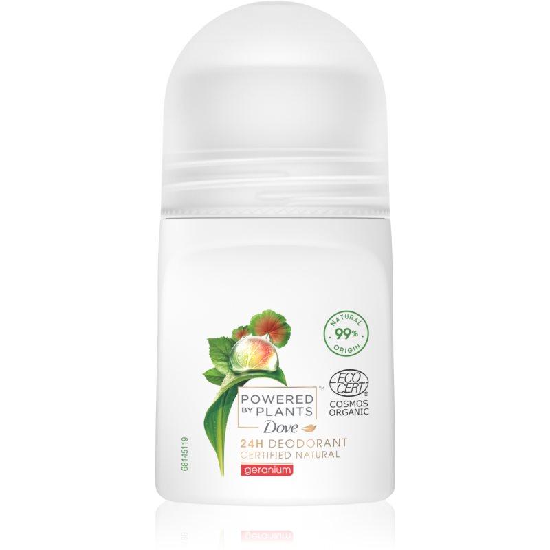 Dove Powered by Plants Geranium deodorante roll-on 50 ml