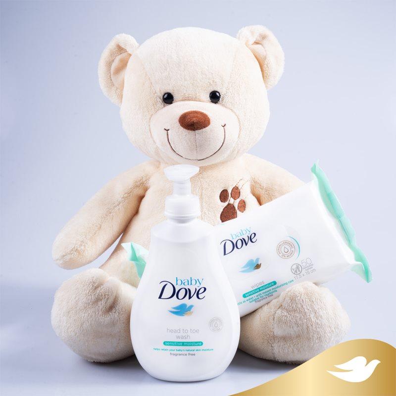Dove Baby Sensitive Moisture tisztító gél testre és hajra 400 ml