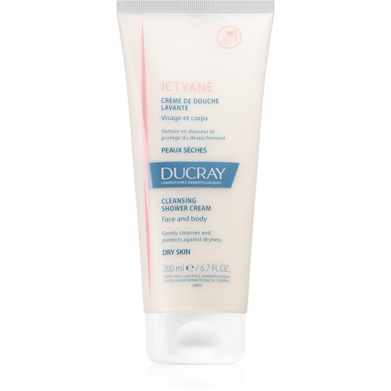 Ducray Ictyane crème de douche corps et visage 200 ml