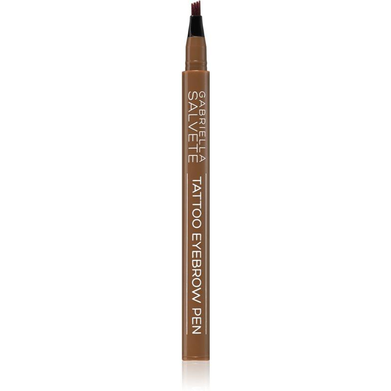 Gabriella Salvete Tattoo Eyebrow Pen matita per sopracciglia colore 02 Brown 0,28 g