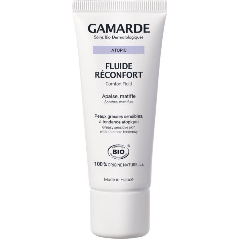 Gamarde Fluide Réconfort zklidňující krém pro citlivou pleť se sklonem ke zčervenání 40 g