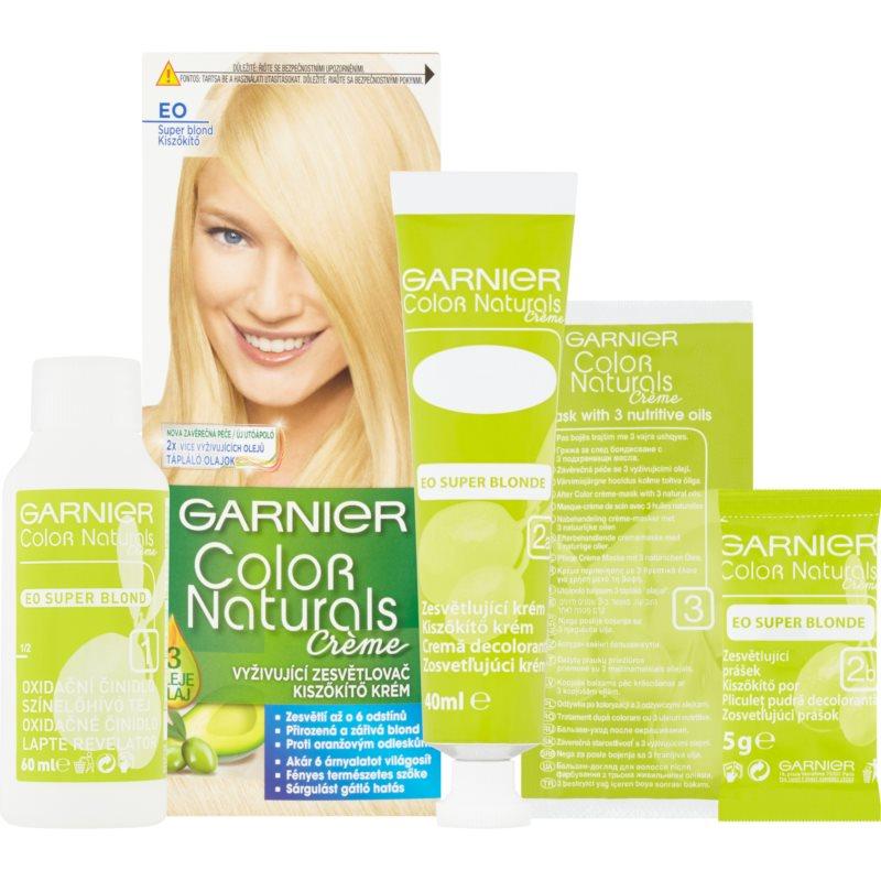 Garnier Color Naturals Creme coloration cheveux teinte E0 Super Blonde