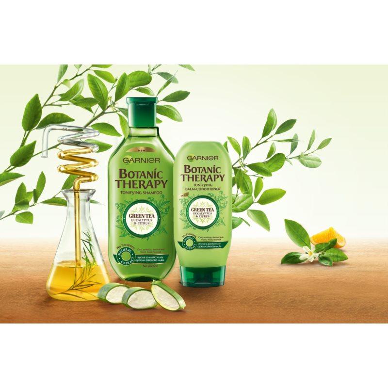 Garnier Botanic Therapy Green Tea sampon hajolajjal 400 ml