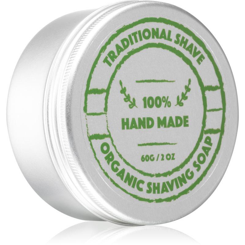 Golden Beards Organic Shaving Soap holiace mydlo pre mužov 60 g