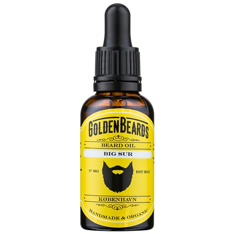 Golden Beards Big Sur olej na bradu 30 ml