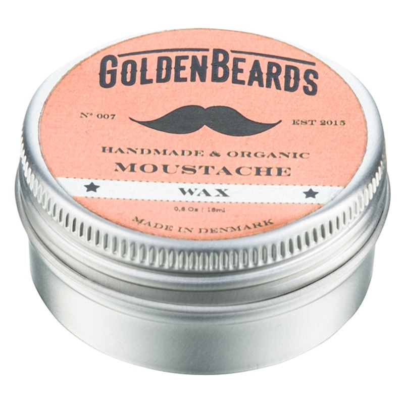 Golden Beards Moustache vosk na fúzy 15 ml