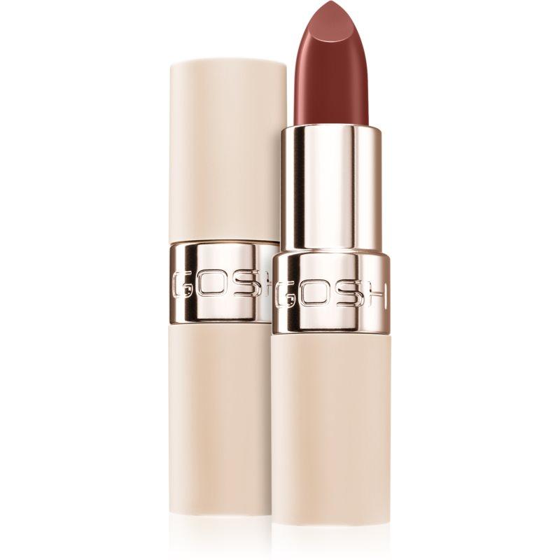 Gosh Luxury Nude Lips rossetto semi-matte effetto idratante colore 003 Stripped 4 g